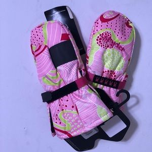 NWT Spyder girl's Bitsy Cubby Mittens size XL